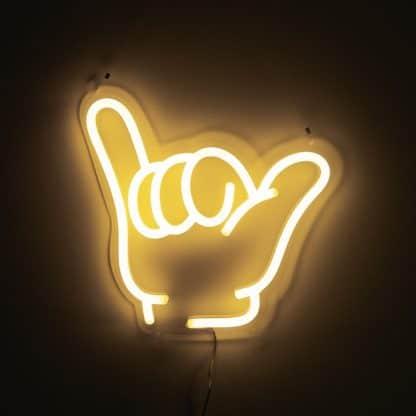 Shaka Neon Sign